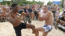 BLACK PANTHER vs RUGBY Player and Monster MMA ! 1 vs 2