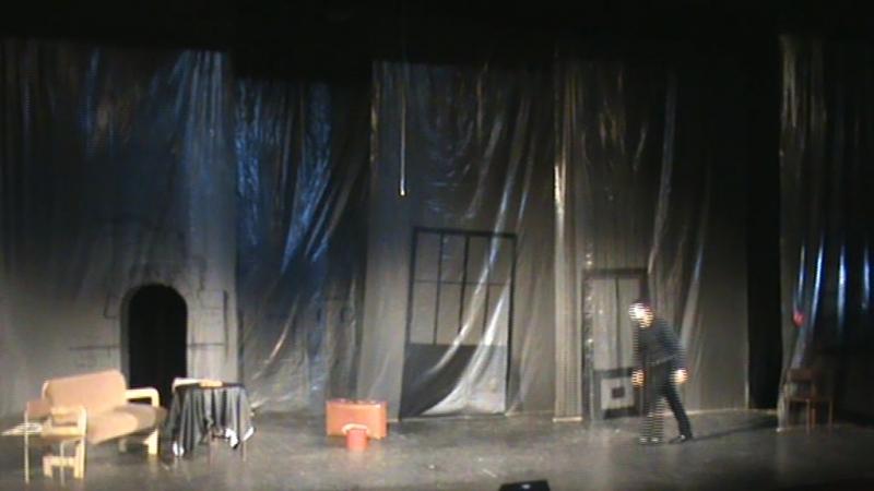 Цианистый калий, с молоком или без... комедия, фарс. (мой дипломный спектакль. 2014 год) 2 часть