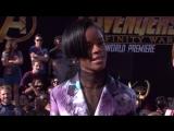 Летисия Райт на премьере Войны Бесконечности в Голливуде