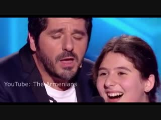 Patrick Fiori and Ermonia sing Armenian song Dle Yaman
