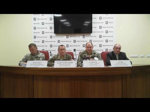 Прес-брифінг щодо призову на військову службу