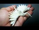 Feathered Tsuru Origami TUTORIAL (Riccardo Foschi)