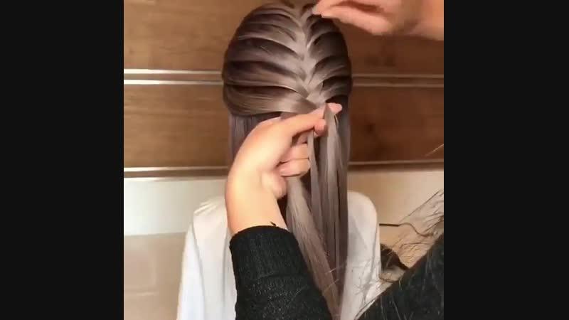 Отличное плетение! Просто и красиво!