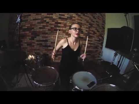 Галина Лисица 36 лет Москва Muse - Supermassive Black Hole - Drum cover (GORODKOVDRUM)