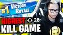 26 KILL SOLO SQUAD HIGHEST KILL GAME! || FaZe SpaceLyon