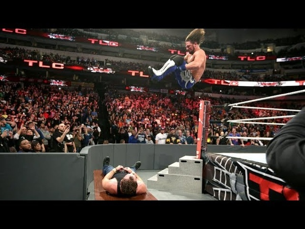 The Kingslayer 10 OMG TLC Match moments