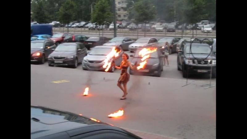 Огненное шоу на двоих