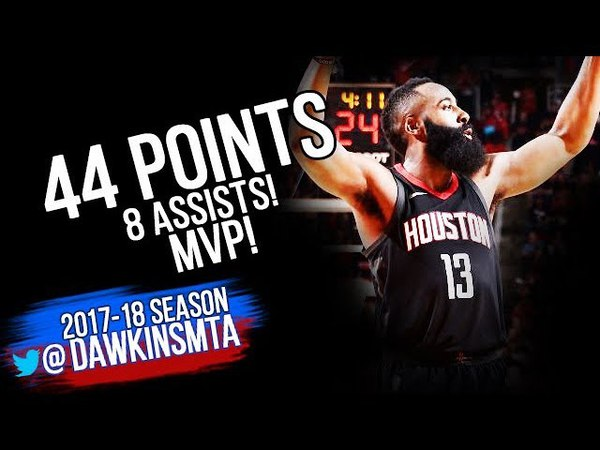James Harden Full Highlights WCR1 Game 1 Houston Rockets vs TWolves - 44-8 Asts, MVP! | FreeDawkins