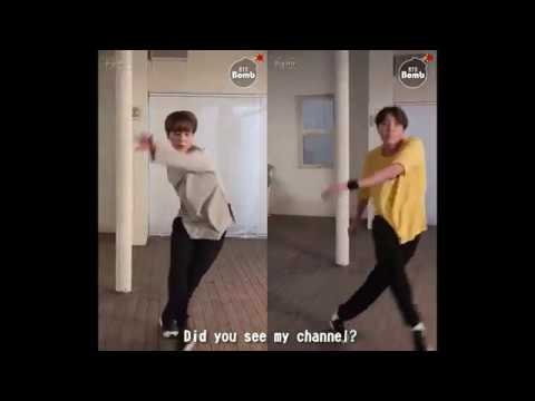 Difference between J-Hope and Jimin Dancing in Highlight Reel (Youth by Troye Sivan)
