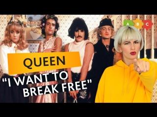 Разбираем клип и песню Queen — I Want to Break Free | Puzzle English