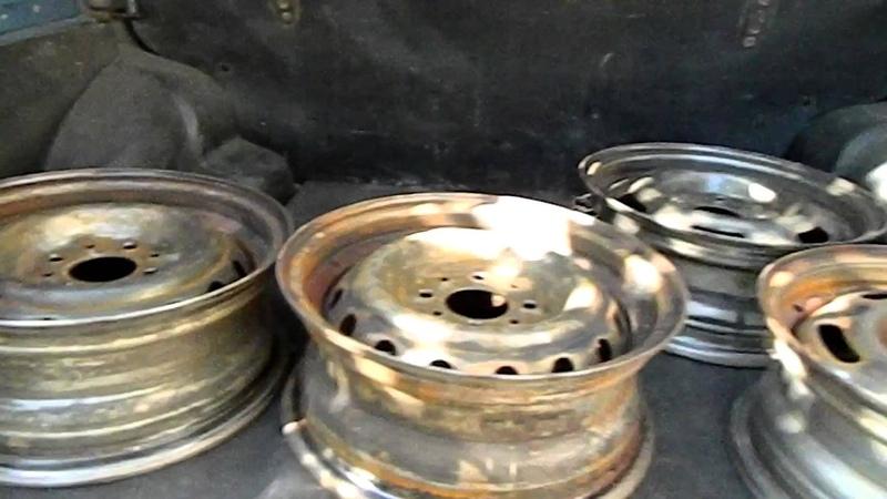 Восстановление штампованных дисков своими руками