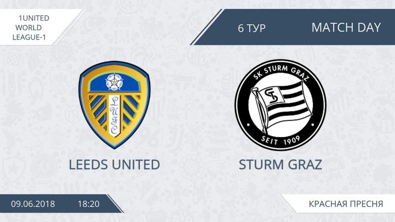 AFL18. United World. League 1. Day 6. Leeds United - Sturm Graz