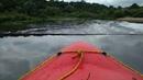 Порожек водопад на р Лава в г Знаменск