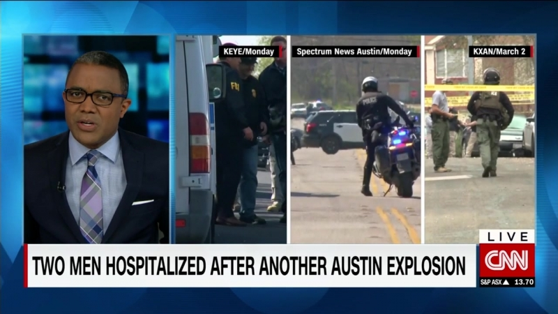 2 injured in Austin explosion authorities say