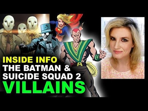 The Batman Movie Court of Owls, Suicide Squad 2 Amazo - DCEU Villains