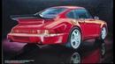 Обзор Porsche 911 Carrera Turbo 91 Fujimi 1/24 сборные модели