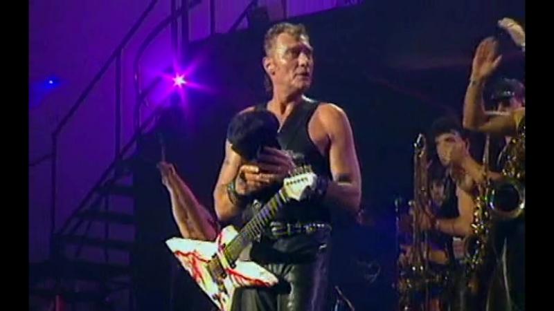 Johnny Hallyday - Le bon temps du rocknroll (Bercy 1992)
