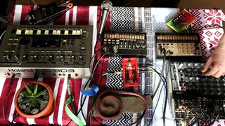 imprum - winter calling [korg volca keys, volca beat , roland mc -303 live] (psychii / downtempo)