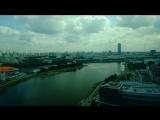 Екатеринбуржец снял красивый пейзаж над Исетью и уложил сутки города в одну минуту