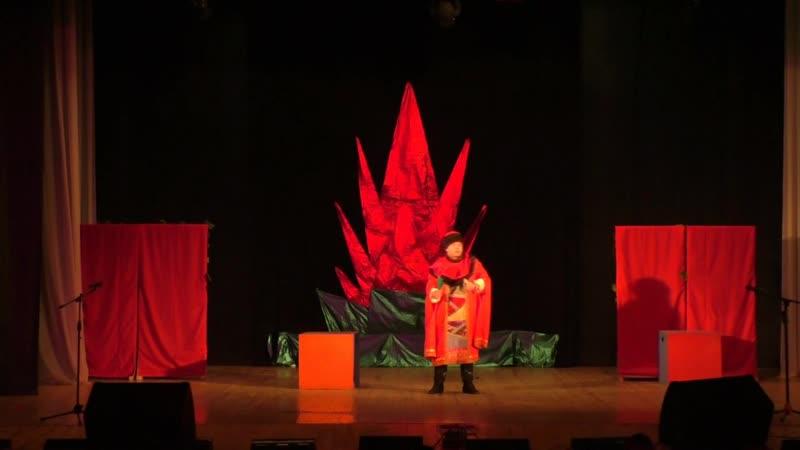 ТС Балаганчик Аленький цветочек декабрь 2017г ДК Энергетик Яйва
