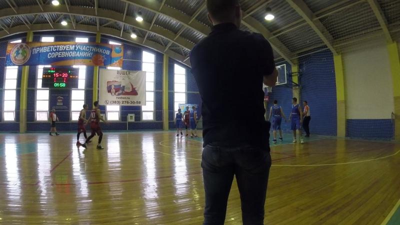 Юниор-Алтай баскет 2 период конец