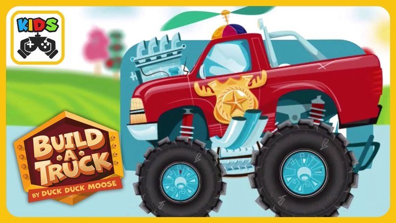Build a Trucks and Cars * Fun Race Kids Game by Duck Duck Moose * iOS | Android Gameplay