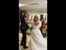 Конфетти шоу на свадебный танец