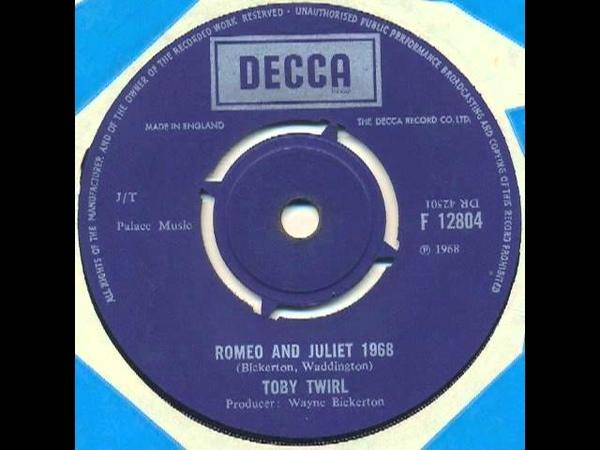 Toby Twirl - Romeo and Juliet 1968 (UK psych pop)