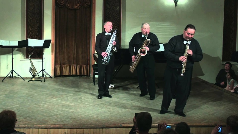 Sax Masters Quartet - Шоу номер Квартет и девушка » Freewka.com - Смотреть онлайн в хорощем качестве