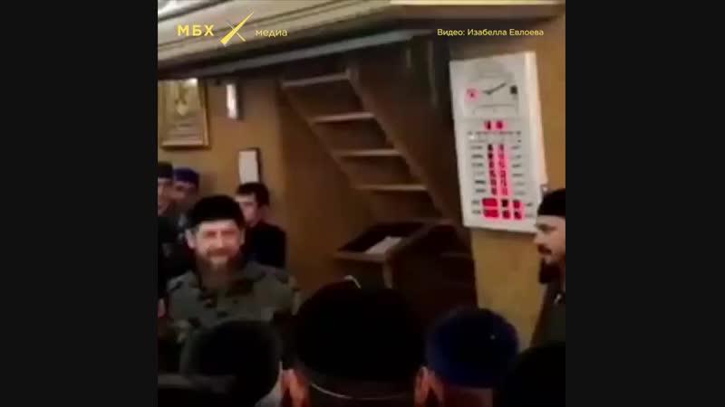 «Оставьте меня в покое»: Рамзан Кадыров на встрече с ингушским старейшиной Нальгиевым