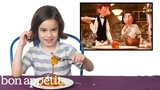 Kids Try Famous Foods From Movies, From Harry Potter to Ratatouille Bon App