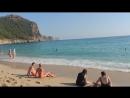 Пляж Клеопатры Kleopatra Plajı 21 temmuz 2015