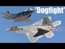 Why an F-22 Raptor Would Crush an F-35 in a Dogfight