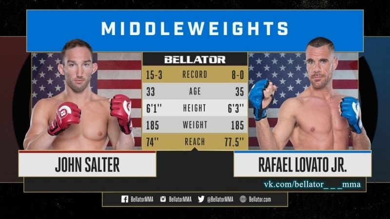 Rafael Lovato Jr vs John Salter