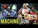 This is why you HATE Sniper MACHINE GUN Max Speed Most Crazy Build Gameplay 7.19b Rank Dota 2