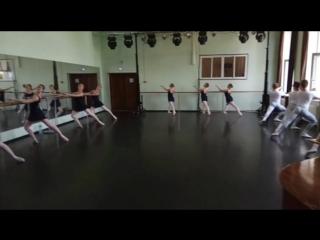 МГКИ.Отделение Современный танец.2курс.Экзамен по Классическому танцу.Станок.июнь2018