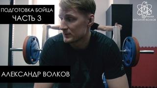 Александр Волков. Подготовка к бою. Часть 3 / Тренировка бойца ММА с железом