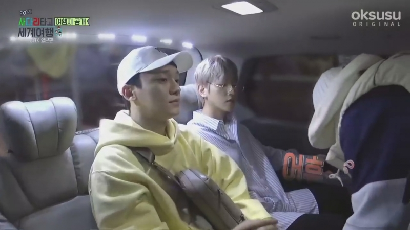 180521 EXO Chen Baekhyun Xiumin @ Travel The World on EXO's Ladder Ep.1