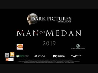 The Dark Pictures Man of Medan • Dev Diary 1 Part 1 • PS4 Xbox One PC