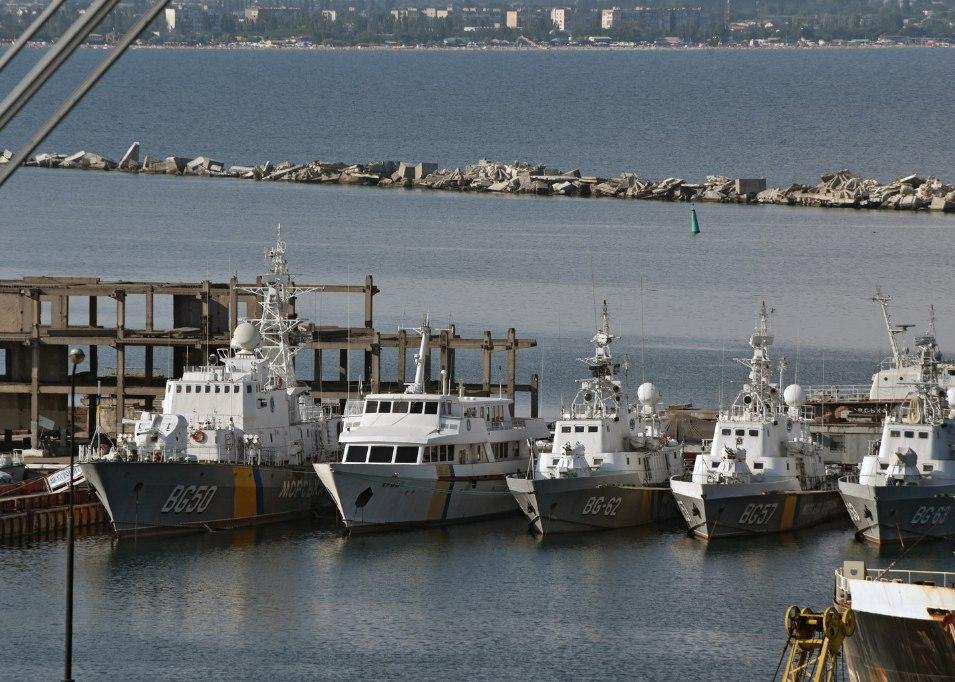 На Украине арестовали российское судно