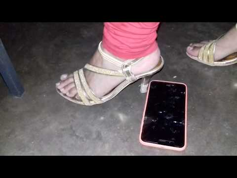 Crush, Trampling Jumping full weight on MI A1 With Nice High Heel