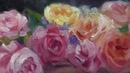 Flower Basket Time Lapse Alla Prima Oil Painting Demo