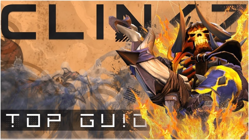 ПОДРОБНЫЙ ГАЙД НА CLINKZ | фишки CLINKZ 7.17 | Как играть за CLINKZ [TOP GUIDE] КЛИНКЗ DOTA 2
