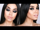 Gray Black Smokey Eye | Holiday Smokey Eye Makeup Tutorial | Eman