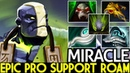 Miracle- [Earth Spirit] Epic Pro Support Roaming Hard Game 7.20 Dota 2