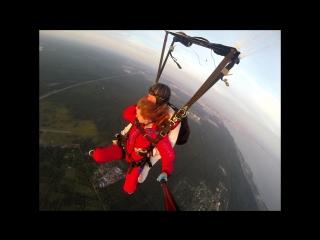 Моя МЕЧТА!!!!!! Мой прыжок с парашютом!!!!!)))