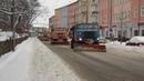 Зимняя техническая служба в составе IFA убирает снег с улиц Франкфурта на Одере Германия Видео на YouTube датировано январём 2010 года