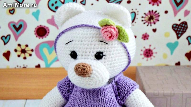 Амигуруми: схема Мишка Майя. Игрушки вязаные крючком - Free crochet patterns.
