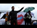 Марш в защиту Петербурга. Выступление Ярослава Кострова. 1 мая 2018 года.