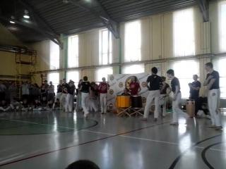 Выступление учеников (Давида) и тренеров